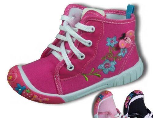 Mädchen Knöchelschuhe NEU Stoffschuhe Sneaker Kinder Schuhe @2341//2379