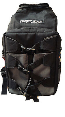 Black and Charcoal CB25B Revolution Backpack CineBags Orange Label Camera Backpack Professional Video Equipment Case