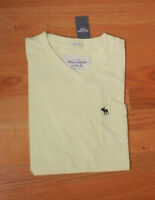 Abercrombie & Fitch Macomb Mountain Tee Medium Yellow By Hollister
