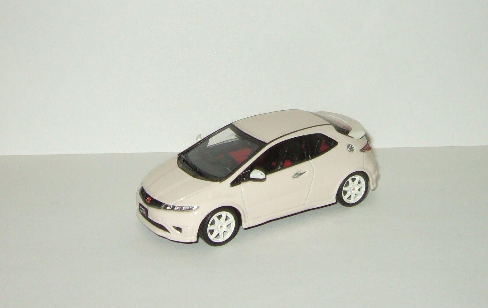 1 43  Ebbro Honda Civic Type R Euro 2007 blanc  bénéfice nul