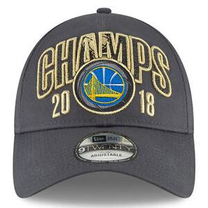 New Era Golden State Warriors 2018 NBA Finals Champions 9TWENTY ... 9cd2eec97bd