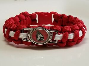 eff8217a Details about Ball State Cardinals Handmade Custom Sized Paracord Bracelet  - see ad for sizing