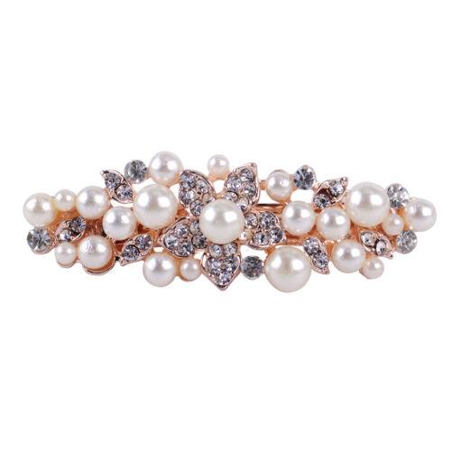 Haarschmuck Kopfschmuck Haarklemmen Haarspange Perlen Charm Barrette Glasperlen