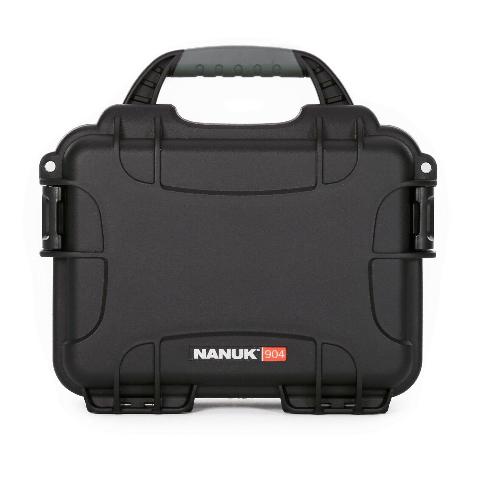 Nanuk case 904 NO FOAM.water proof,dust proof,impact resistant.NEW in original.