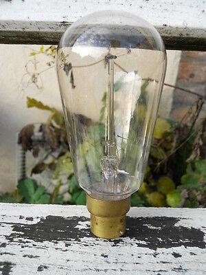 Ancienne curieuse ampoule  filament étoile