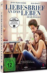 Liebesbrief an das Leben - Dear Zindagi (LTD EDITION, 2x DVD + Blu-ray) NEU+OVP