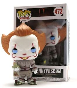 IT-Pennywise-con-barco-Pop-Funko-movies-Vinyl-Figura-n-472