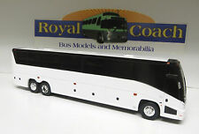 "New Mold 11"" MCI ""J"" Untrimmed Plastic Bank Bus - True 1:50 Scale"