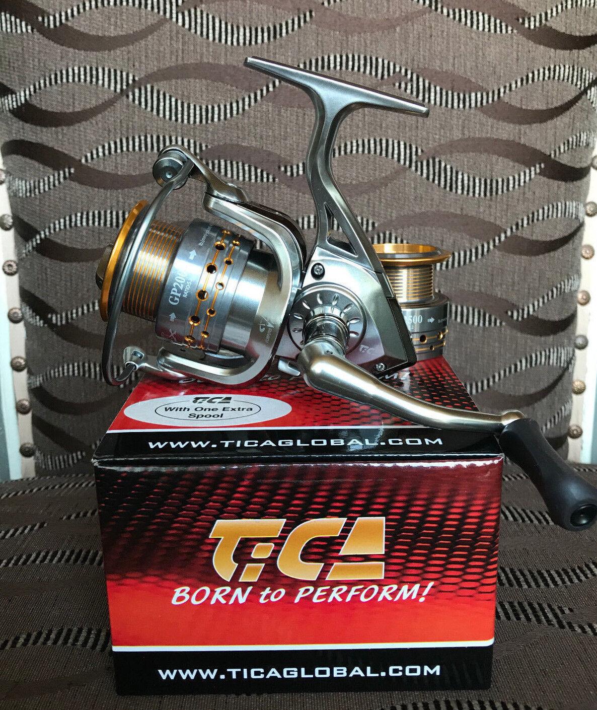 TICA GALANT gp2000 FD spinnrolle