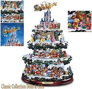"BRADFORD EXCHANGE ""WONDERFUL WORLD OF DISNEY""- MUSICAL CHRISTMAS ..."