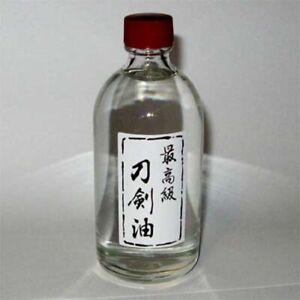 Japanese-Sword-Tsuba-Choji-Oil-100-ml-Metal-Polish-Care-FREE-SHIPPING-fx