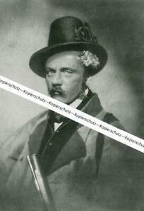 Franz von Kobell auf der Jagd - München - Nach einem Gemälde - um 1930    W 25-8
