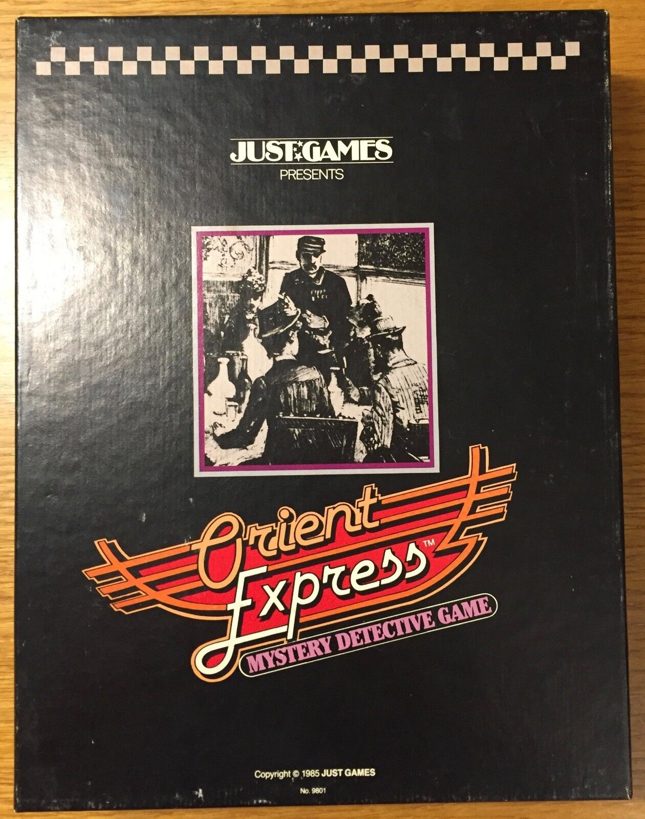 Orient Express - Just Games 1985 - PUNCHED