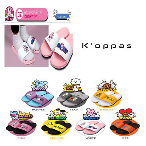 Official-Kpop-BTS-BT21-Characters-Pop-Slippers-100-Authentic-By-Line-Friends