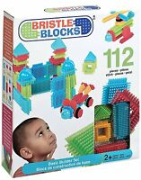 Battat Bristle Blocks Basic 112 Piece Set Building Kit , New, Free Shipping on Sale
