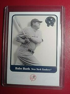 2001-Fleer-Greats-of-the-Game-Babe-Ruth-3-NY-Yankees