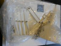 Pottery Barn Teen Accordian Wall Light Sconce White In Box Free Shipping