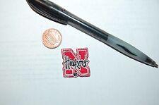 "Nebraska Cornhuskers ""N"" 1"" Collar Patch 1992-2012 Secondary Logo College"