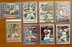 Ronald Acuna Jr Lot of 8 ✨ 2019 Topps Rookie Cup 2021 Donruss SP 2020 Chrome