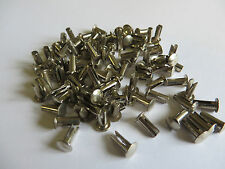 100 nickled Acero 8 Mm Split (bifrucated) Remaches
