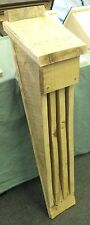 Fatto a mano in legno barbastelle Nursery BAT BOX Casa-NON TRATTATA VERDE LEGNO ROVERE