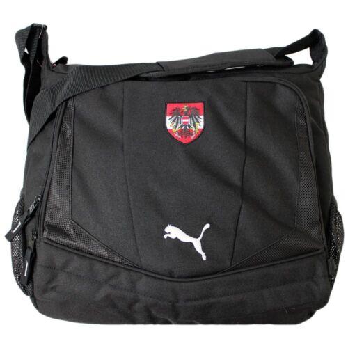 Puma Country Shoulder Bag Austria Tasche Messenger Umhängetasche 33x38x11 black