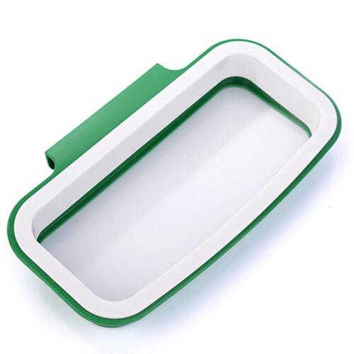 Kitchen Garbage Rubbish Waste Bag Hanging Carrier Bag Bin Sack Hanger Holder New