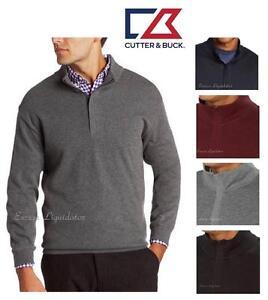 Cutter Buck 14 Zip Mens Pullover Sweater Ebay