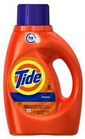 Tide He Liquid Detergent, Original - 32 Loads, 50 Oz