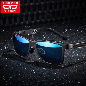 0b8449f8d303 Image is loading Men-039-s-Polarized-Aluminium-Sunglasses-Outdoor-Driving-