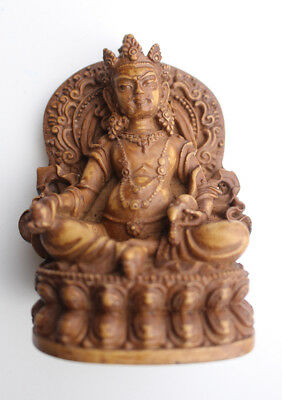 "Four Armed Ganesha Brass Statue 2.5/"" High ST366"