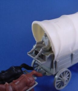 MARX-Western-Playset-Wagon-Rider-Driver-Seated-Cowboy-Figure-ONLY-RECAST