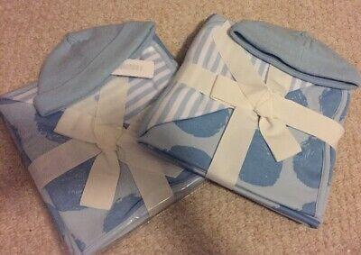"NWT Gymboree Pink Dot Cotton Receiving Blanket 30x30/"""