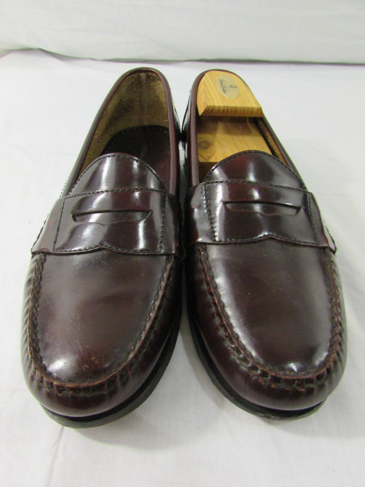 Sherman Bredhers Philadelphia Brown Penny Loafers Mens 9M In Brooks Bredhers Box