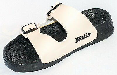 Details about Birki Sandals by Birkenstock for WMN Strap Birkis Barbados Creamy White Regular