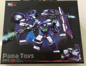 Transformers Papa toys PPT-01 camera G1 camera three brothers MP ratio NEW