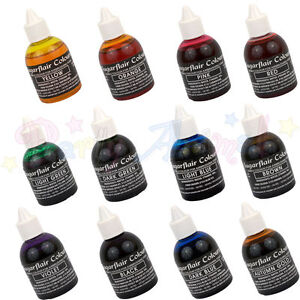 Sugarflair-AIRBRUSH-COLOURS-Edible-liquid-food-colouring-for-airbrushing