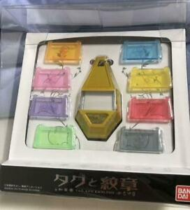 Bandai-Digimon-Adventure-Tag-amp-Crest-Emblem-From-Japanese-toy-rare-F-S-Japan