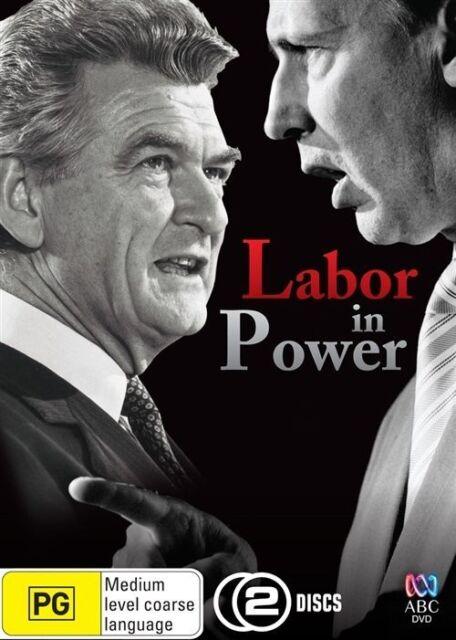 Labor In Power (2 Disc DVD Set) ABC Australian Documentary Rare OOP Like New!