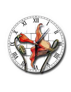 Pink floyd 250mm diameter round metal clock the wall flowers image is loading pink floyd 250mm diameter round metal clock the mightylinksfo