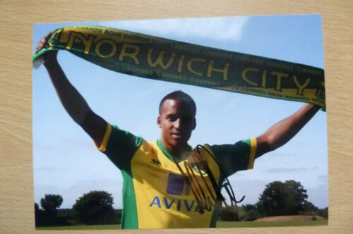 Signed Colour Pictures MARTIN OLSSON, Swedish Footballer 7x5 inch