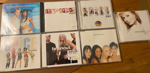 Spice Girls : Albums + singler, pop, Spice girls + Geri…