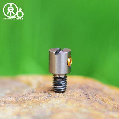 Titanium Barrel Nut For Brompton Folding Bike Shifter Lever
