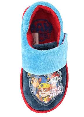 Chicos Nick Jr Paw Patrol Perro Zapatillas Zapatos Rojo/Azul Marino Niño Size Uk 6-12