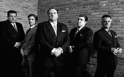GREAT GIFTS THE SOPRANOS CANVAS #6 TV GANGSTER MAFIA A1 A3 CANVAS PICTURES