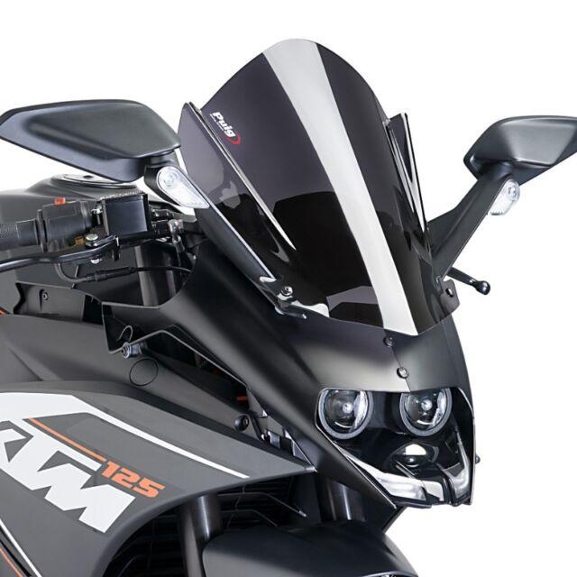 KTM RC 125 2014 > PUIG DOUBLE BUBBLE SCREEN DARK SMOKE RACING WINDSCREEN
