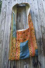 Turkish Design Boho Hobo Tote Bag Shoulder Colorful Kilim Denim Embroidered