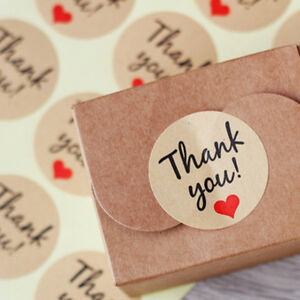 120X-Thank-You-Sticker-Label-Seal-Craft-Wedding-Favor-Envelope-Card-Package-BZ2