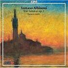 Tomaso Albinoni - : Trio Sonatas, op. 1 (2001)