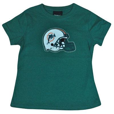 Weitere Ballsportarten Gut Ausgebildete Nfl Reebok Miami Dolphins Flossen Für Mädchen Strass Helm T-shirt Dk6113 KöStlich Im Geschmack